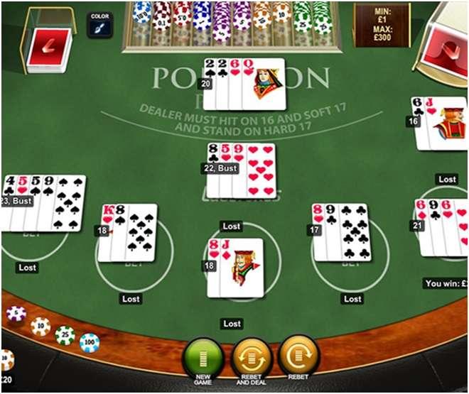 free Pontoon at online casinos