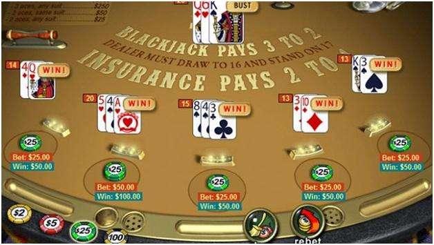 seven blackjack variants- progressive bj