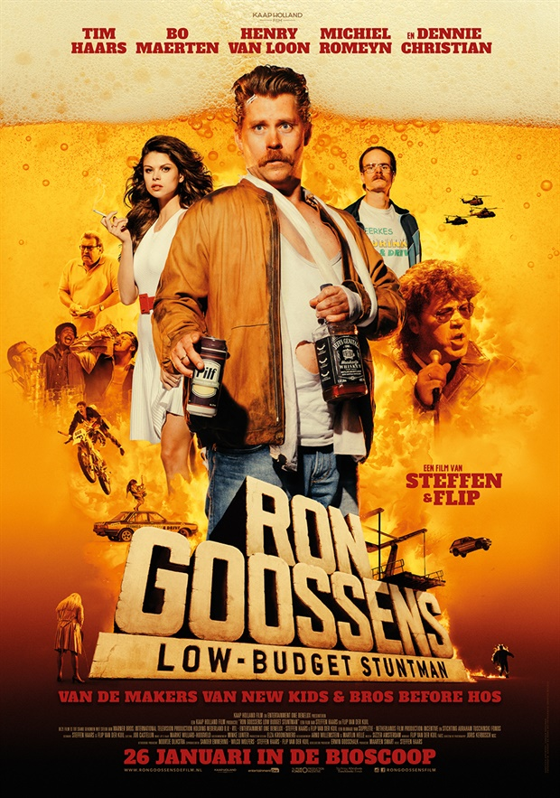 DVD review : Ron Goossens – Low Budget Stuntman
