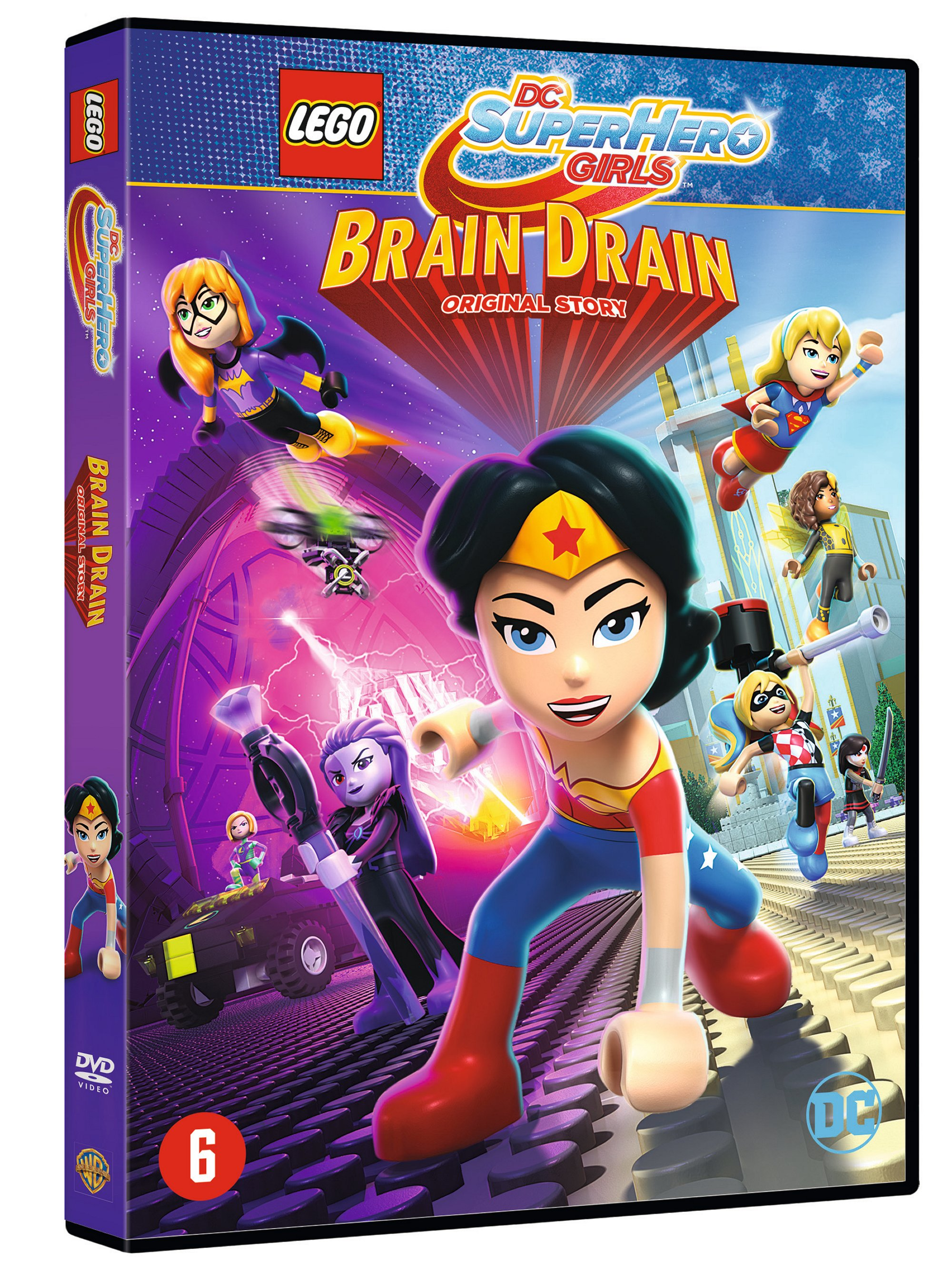 Review : LEGO DC SuperHero Girls – Brain Drain