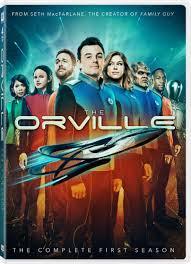Review  : The Orville Season 1 (DVD)
