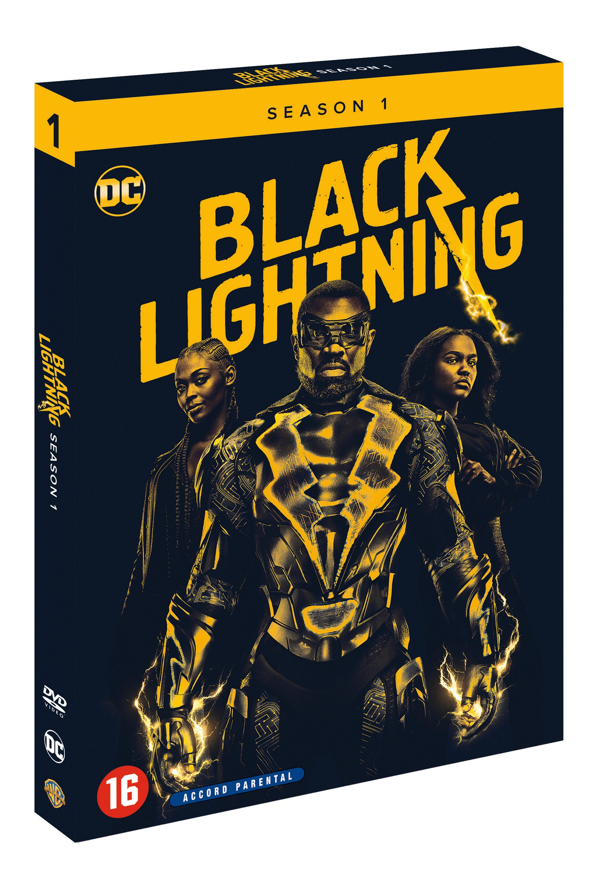 Review : Black Lightning Season 1 (DVD)