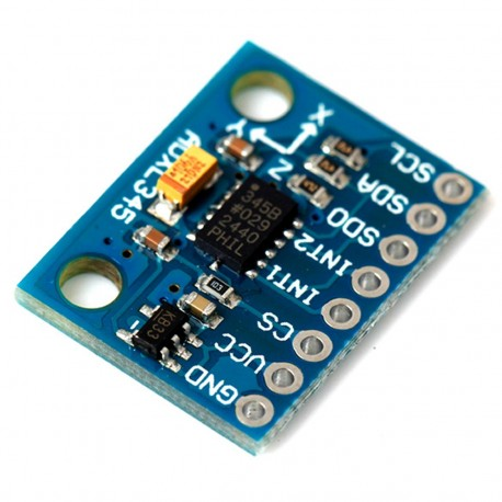 ADXL345 三軸加速度計 (CGGs)