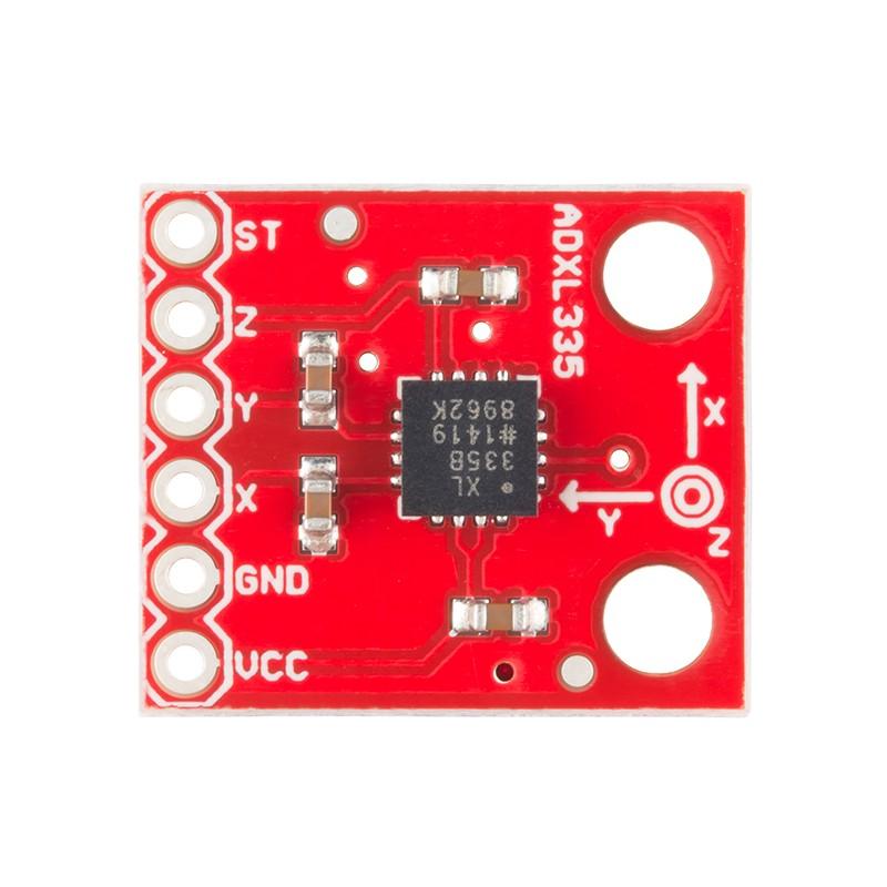 飆機器人-ADXL335三軸加速度計