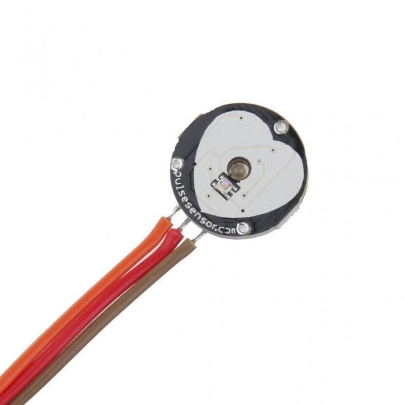 脈搏心率心跳感測器 Pulse Sensor / Arduino / 樹莓派 - PlayRobot