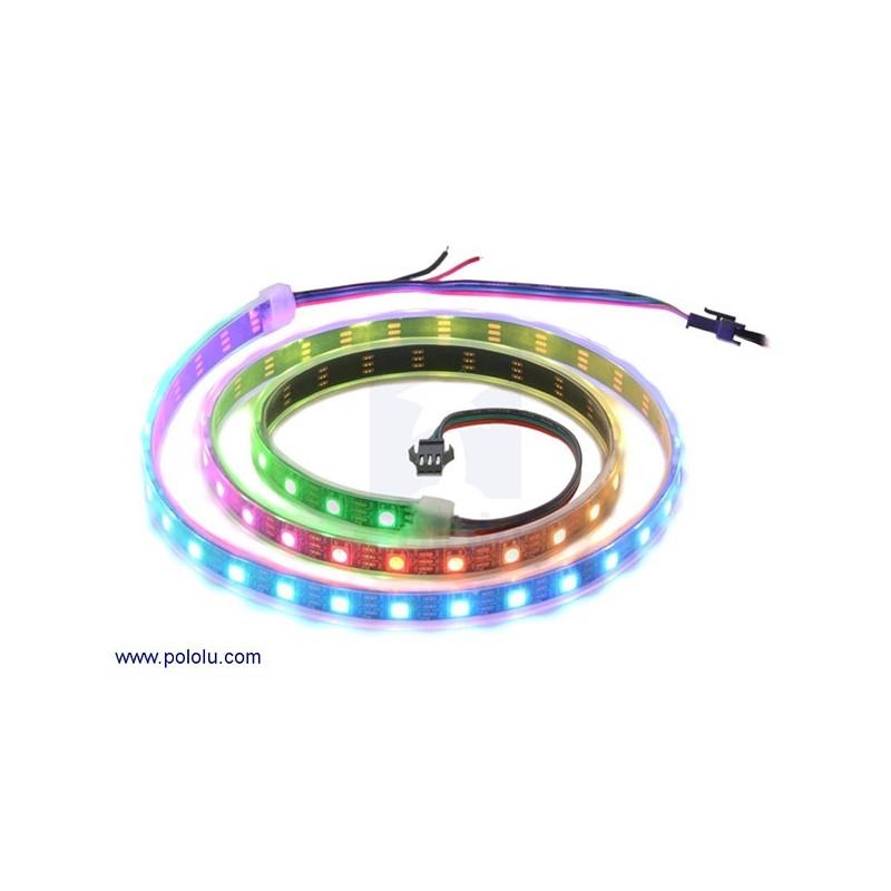 飆機器人-(可定址)30個RGB LED所組成的燈條 (1米)