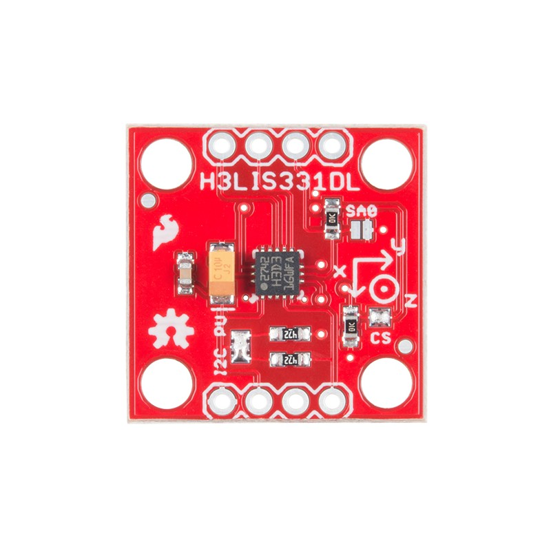 H3LIS331DL三軸加速度計 - PlayRobot