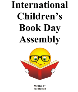 International Children's Book Day Assemblies