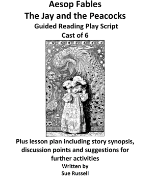 Aesop Fables -The Jay and the Peacocks