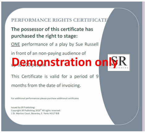 Non Paying Performance Rights