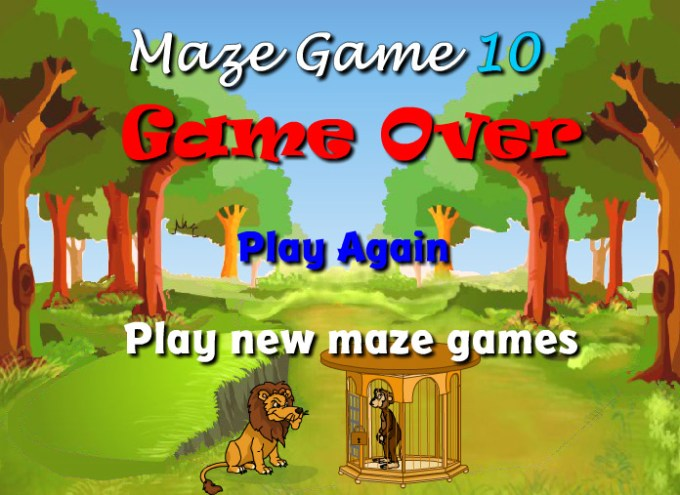 Unblocked Games Scary Maze Game 10 | Games World