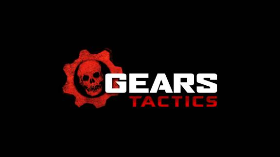 Gears Tactics Black Horizontal Logo