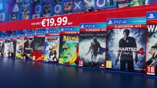 Sony lance une gamme de jeux au prix serré, les PlayStation Hits