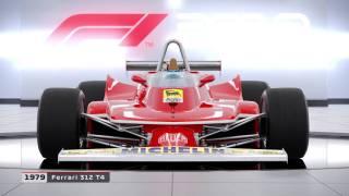 Toutes les F1 classiques de F1 2018