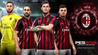 L'AC Milan rempile pour une seconde année avec PES 2019