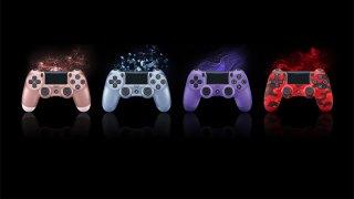 Quatre nouvelles couleurs pour la DualShock 4