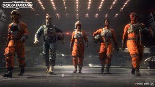 Découvrez le prologue de Star Wars Squadrons jusqu'en 4K HDR sur PS4 Pro et Xbox One X