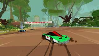 Hotshot Racing, un jeu de course au look rétro à la Virtua Racing