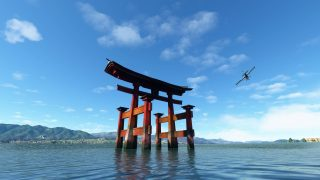 Survolez le Japon dans Microsoft Flight Simulator