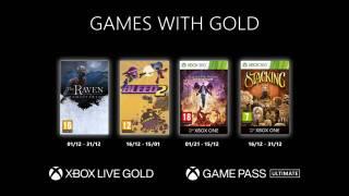 Xbox Games With Gold – Les jeux gratuits de décembre 2020