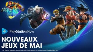 PlayStation Now – Les nouveaux arrivants de mai 2021