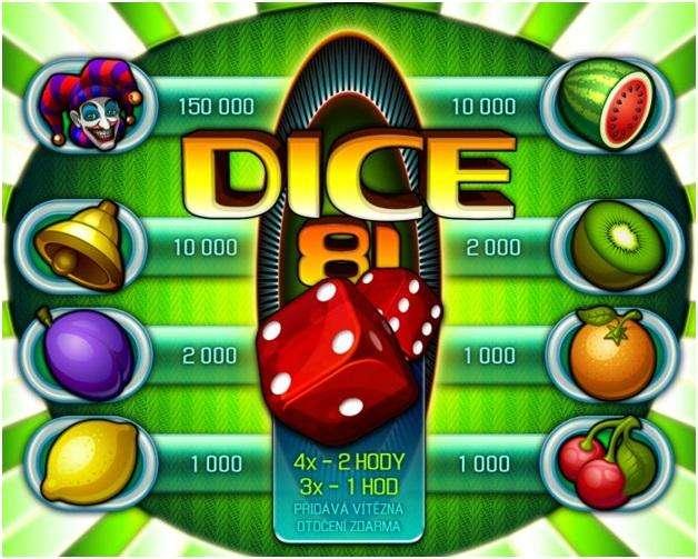 Dice81- Game symbols