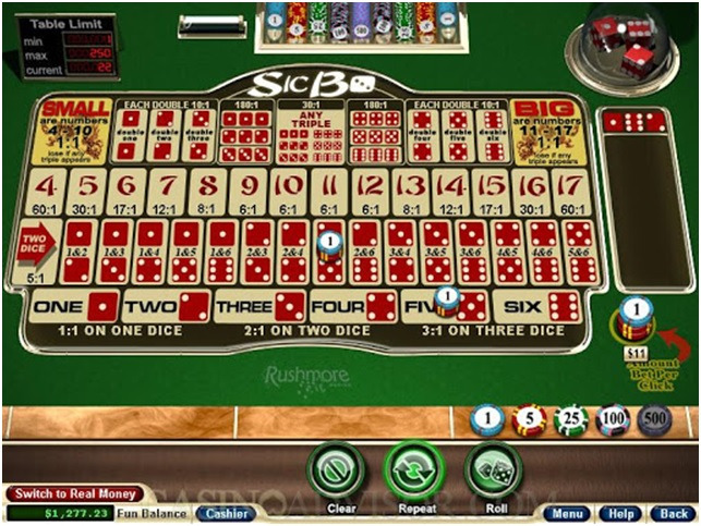 Guide to play Sic Bo at RTG online casinos