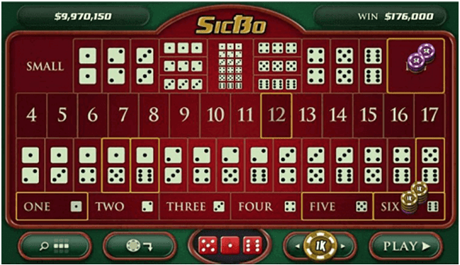 Sic Bo to play at Prism Casino
