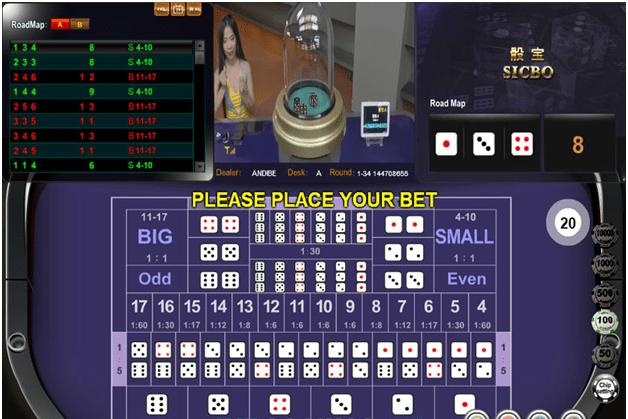 How to Play BBin Live Sic Bo?