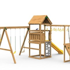 Swing Seat Kit Chair And A Half Leather Recliner Contender Starter Playset The Play Set Includes Scoop Slide Vertical Climber