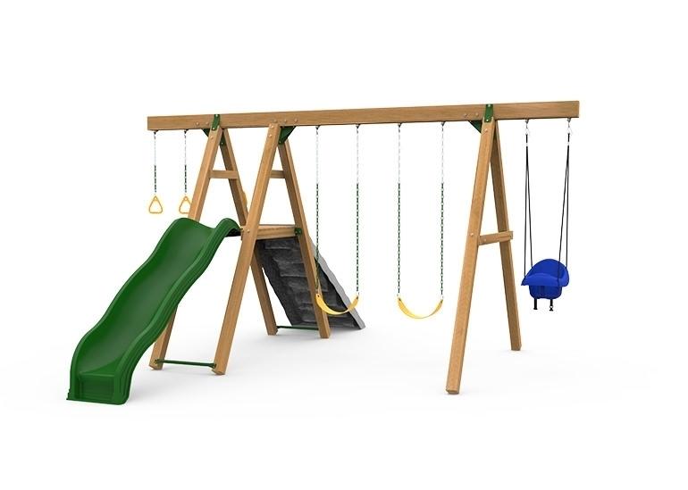 Mesa Gold Swing Set