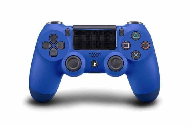 Modrý ovladač PlayStation