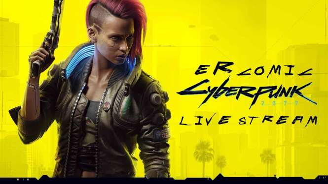 PlayStation 5 stream CyberPunk 2077