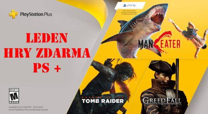 PlayStation Plus hry zdarma Leden 2020