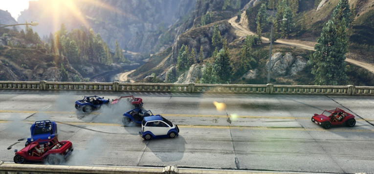 GTA Online uitgebreid met Running Back Adversary Mode