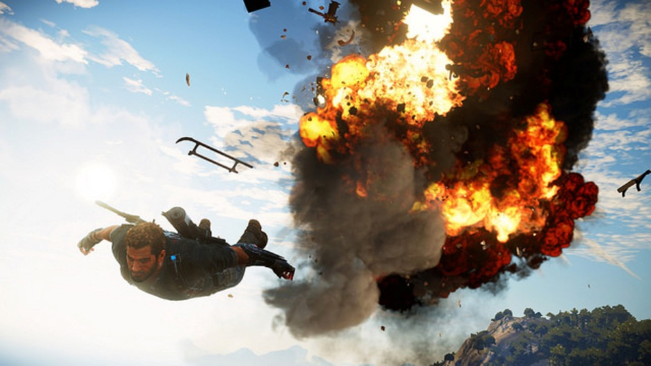 video avalanche studios releases first just cause 3. Black Bedroom Furniture Sets. Home Design Ideas