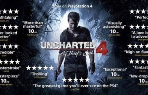 Uncharted 4 reviews In One Picture- image credit @ZhugeEX