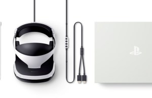 PlayStation VR Headset Retail Box Contents