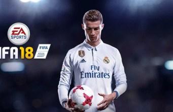PS4 FIFA 18 bundles - Christiano Ronaldo