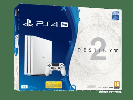 Destiny 2 PS4 Pro bundles