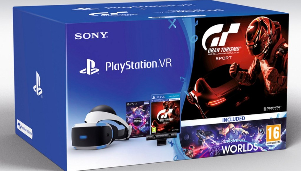 Gran Turismo Sport PS VR bundle
