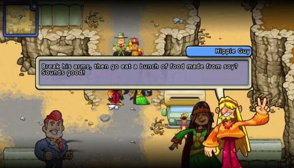 Screenshot di gameplay di Citizens of Earth