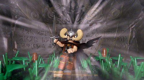Skyrim Lego official Warner Bros