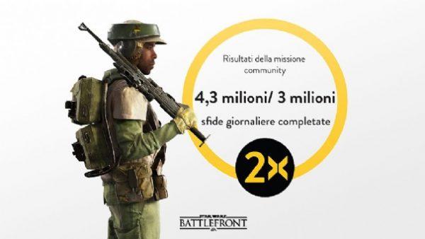 star wars battlefront doppi xp bonus community mission