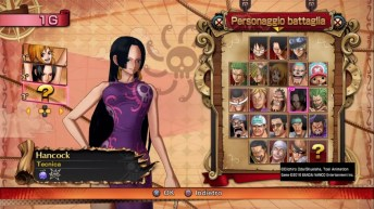 One Piece roster pg anteprima