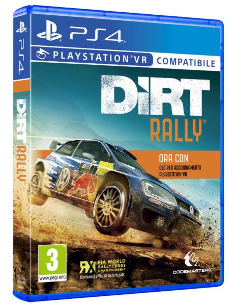 DiRT Rally PS VR (Boxart)