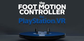 foot motion controller PlayStation VR 3drudder