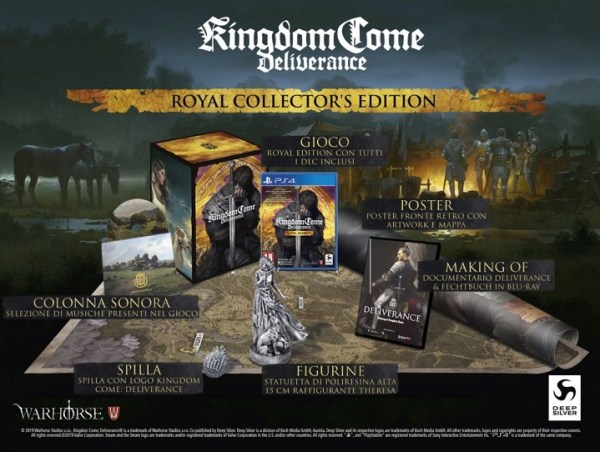 Kingdom Come Deliverance Collector's Royal Edition