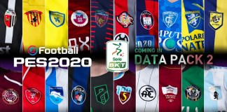 serie b efootball pes 2020