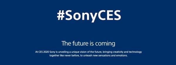 Sony CES 2020
